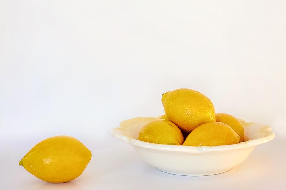 vêtements blancs recette au citron