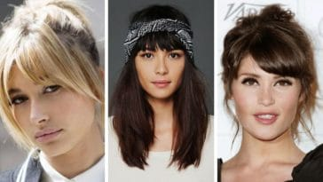 coiffures frange cheveux inspirations mode