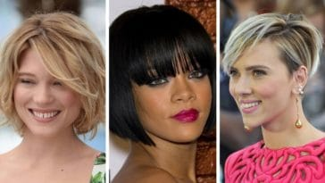 coupes courtes cheveux inspirations stars