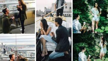 demande en mariage réactions femme photos roman