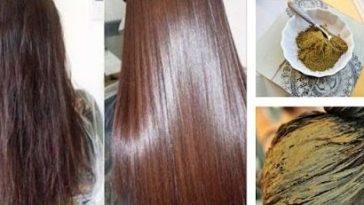 henné cheveux poudre coloration naturelle