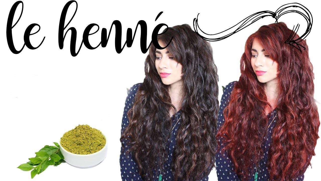 henné cheveux en parfaite santé couleur naturelle