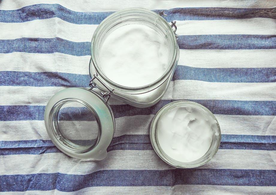 huile de coco pot