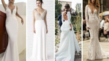 robes de mariée décolleté dos mode mariage