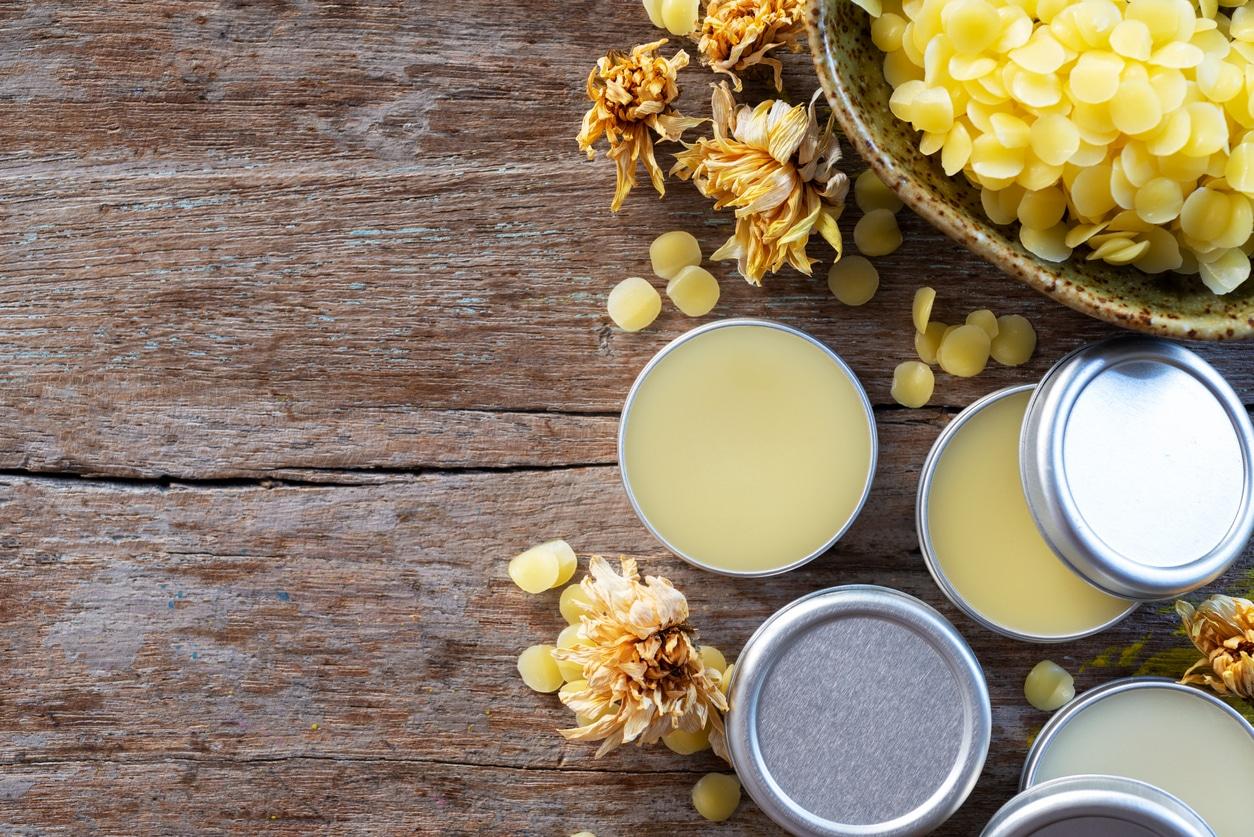 cire abeille lipgloss naturel astuces beauté aliments