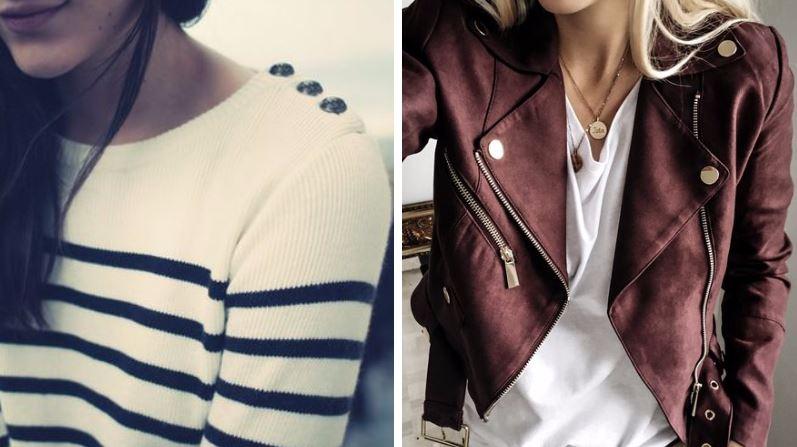 pièces mode intemporelles vêtements