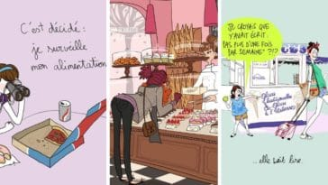 dessins humour illustrations nourriture