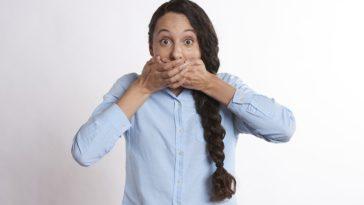 secret empêcher de parler bouche femme