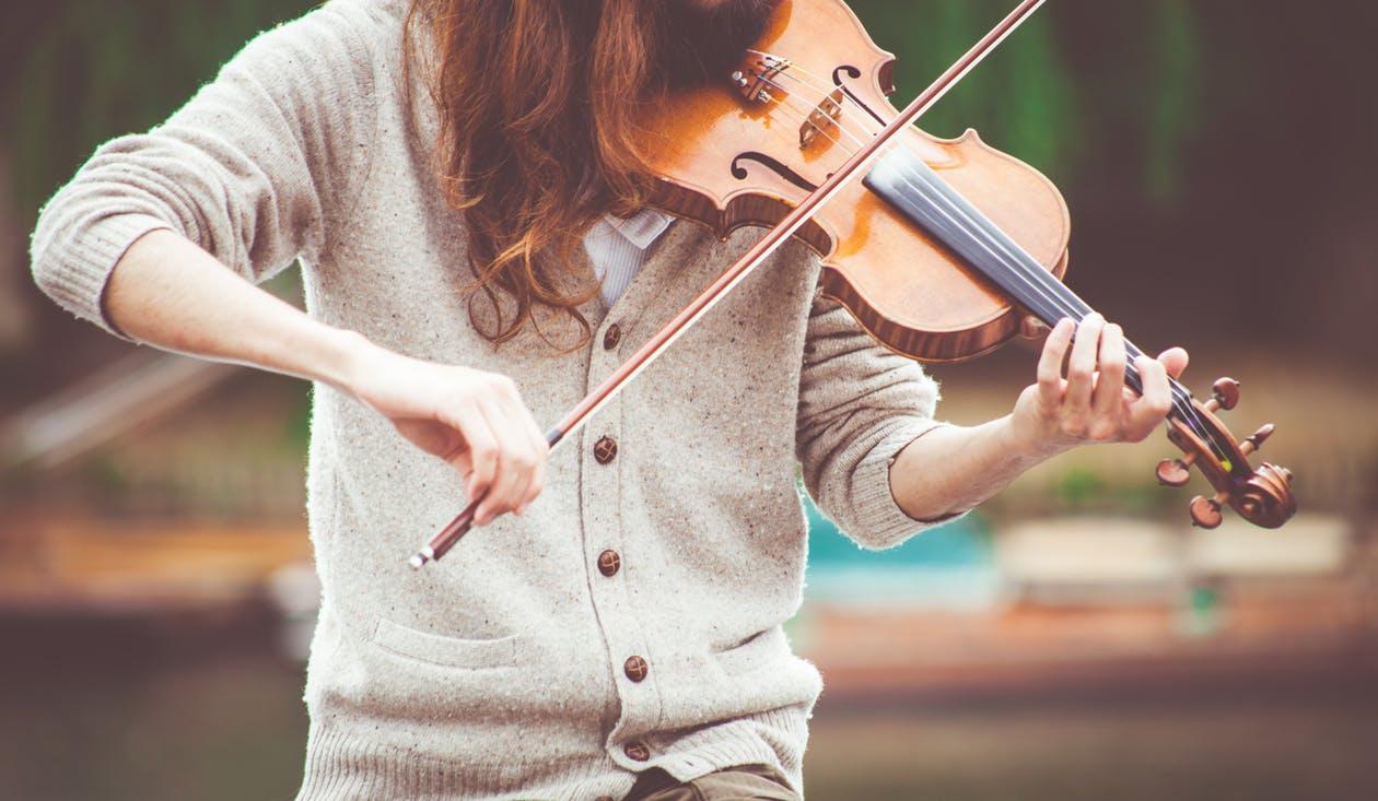 musicienne métier profession travail femme violon