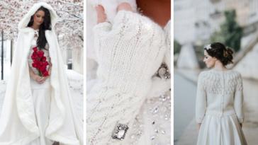 mariée hiver accessoires indispensables