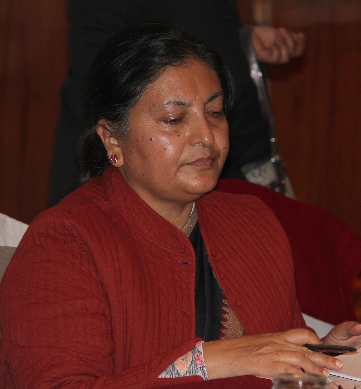 président népal femme