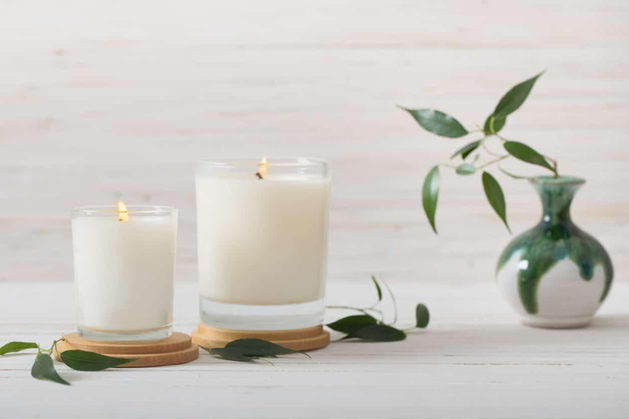 cadeaux de noel maison bougies parfumées zero dechet diy