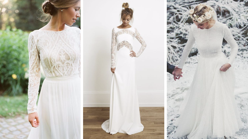 robes de mariée hiver inspiration