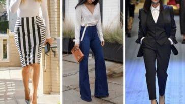 vêtements pieces mode amincir silhouette