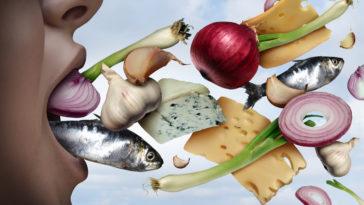 mauvaise haleine bouche aliments femme halitose