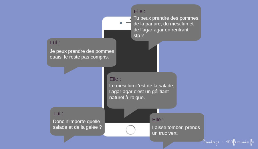 textos couple amour smartphone