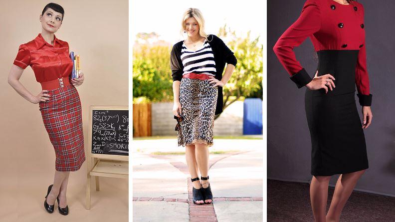 jupe crayon mode femme vêtements qui vont à tout le monde