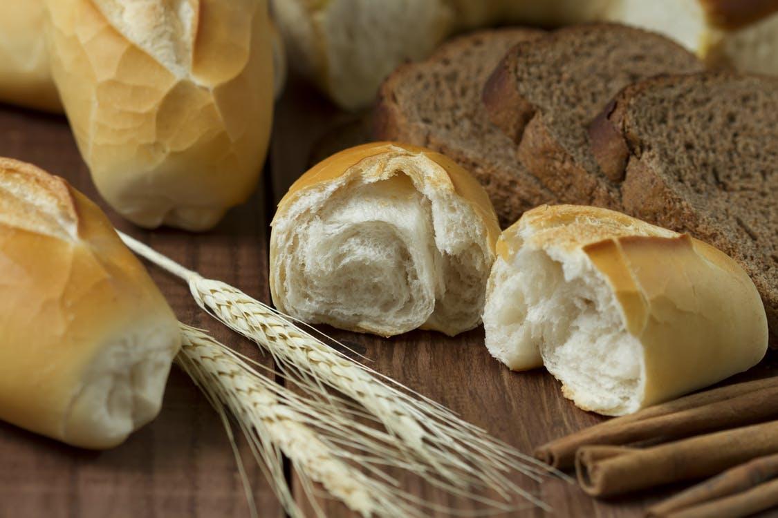pain blanc gluten