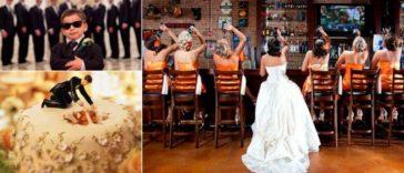 photos de mariage drôles