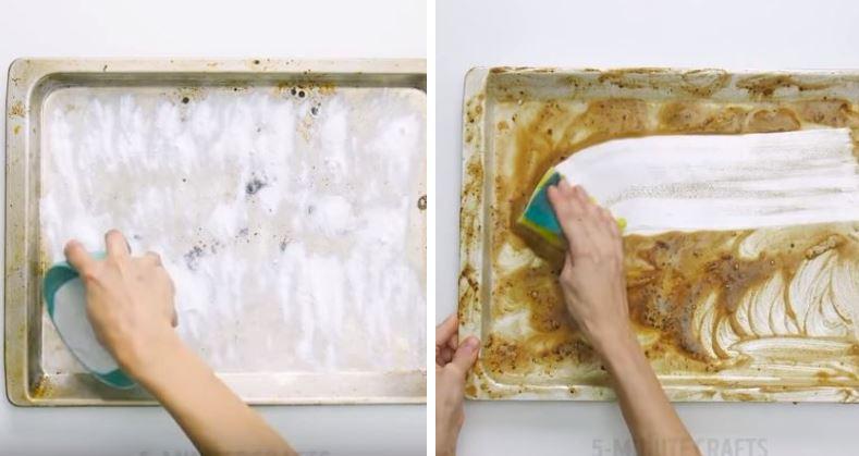 astuces ménage nettoyage propreté plaque four