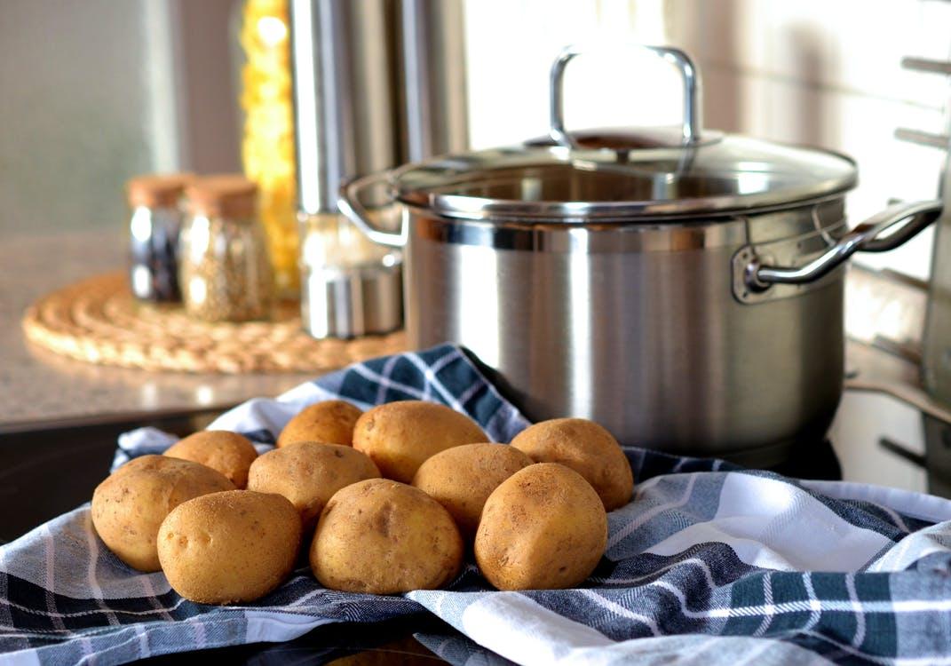 pommes de terre cuisson à l'eau