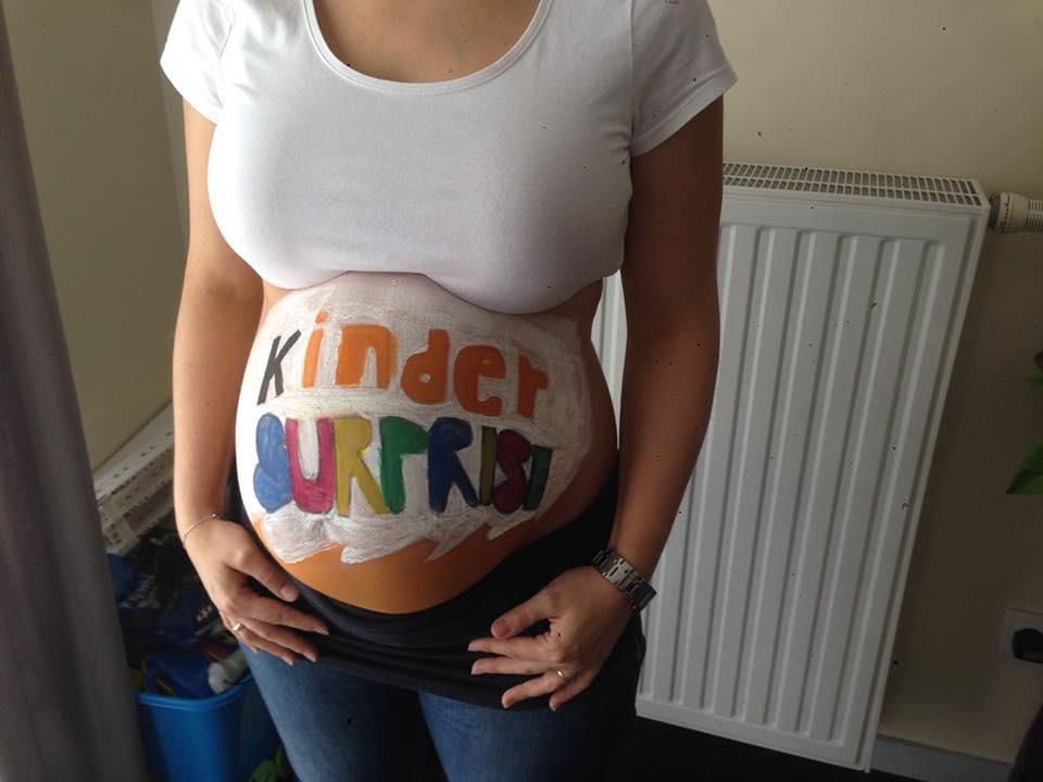 grossesse enceinte ventre décoration annonces