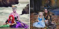 photos mère fille Disney déguisement