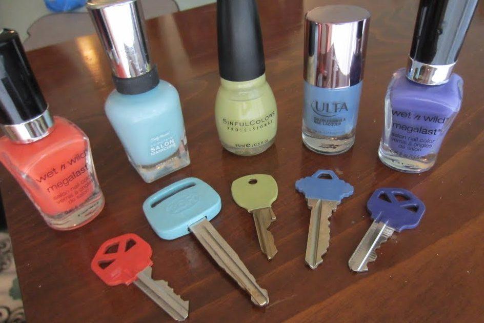 clés vernis à ongles