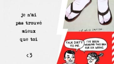 cartes de saint-valentin humour couple