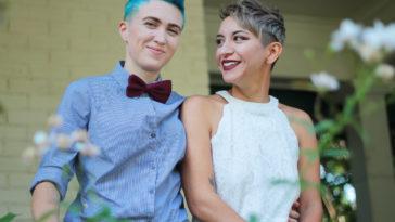 couple gay mariage ou pacs lesbiennes homosexuel