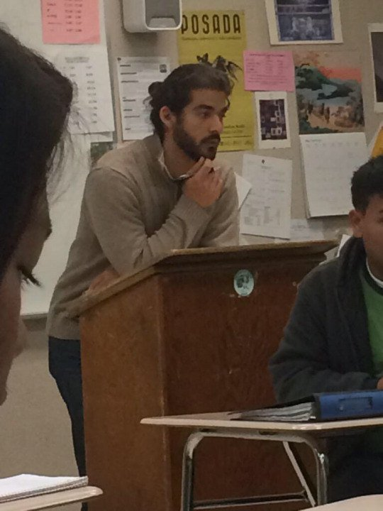 beau prof espagnol