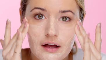 peau éclatante masque