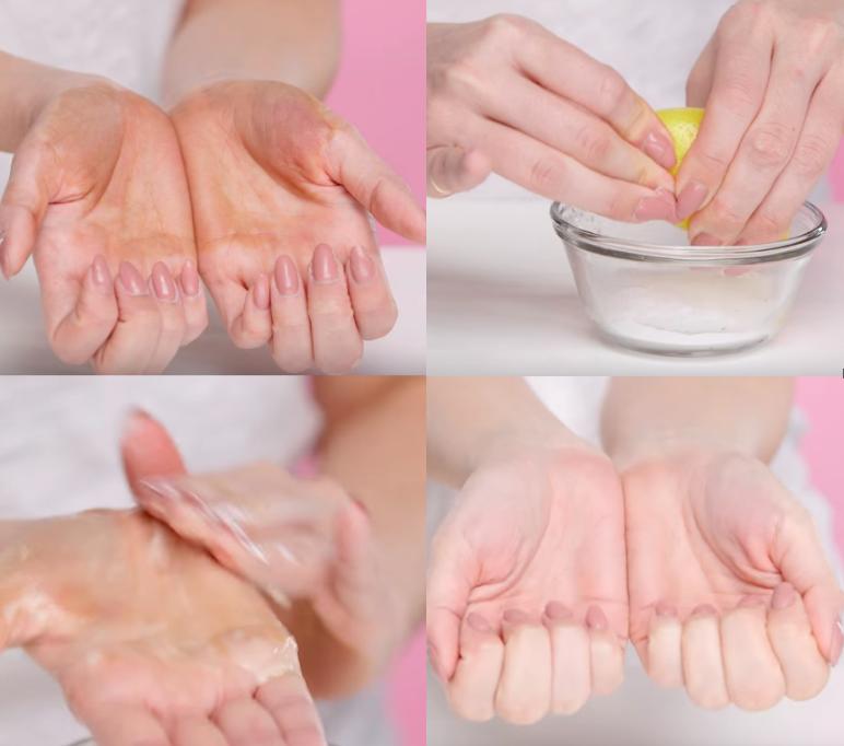 autobronzant peau comment enlever bicarbonate