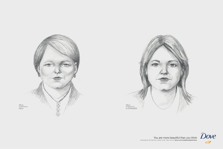 portraits de femmes visages autoportraits