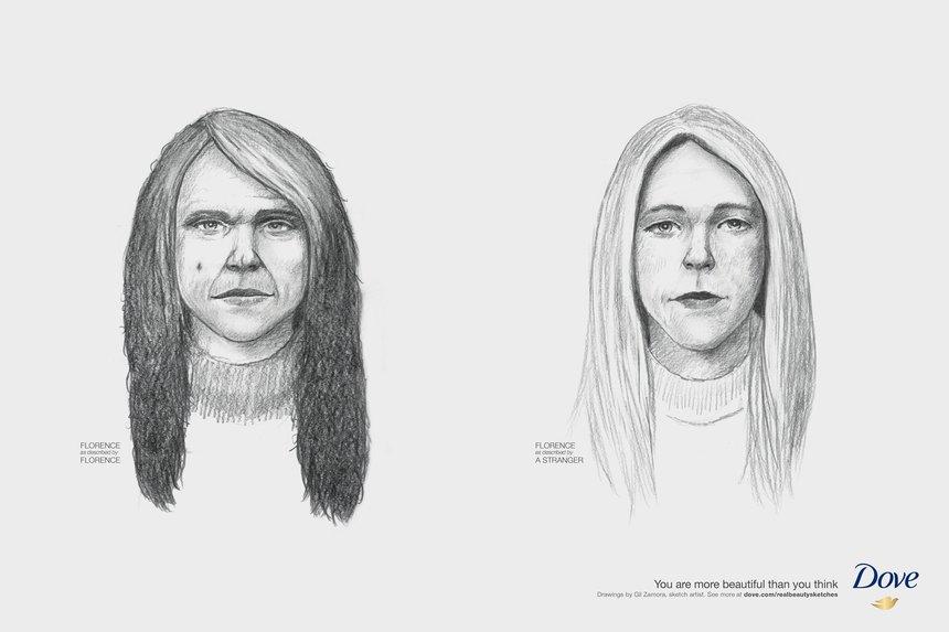 femmes portraits vus par elles vs par un inconnu