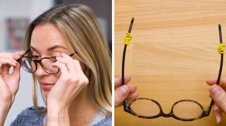 réparer sa paire de lunettes abimées