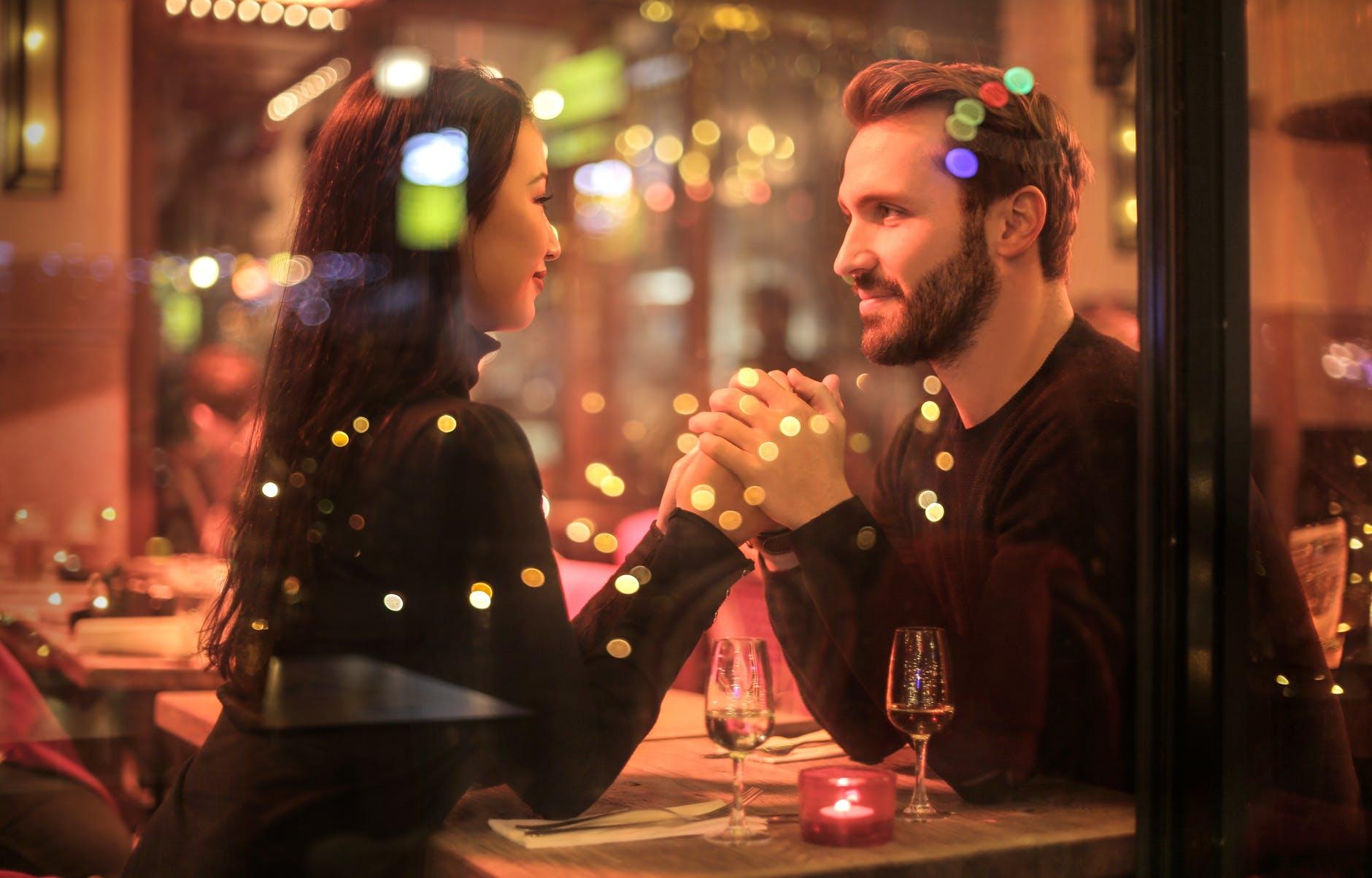 soirée en amoureux restaurant