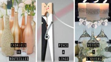 astuces mariage déco DIY maison inspiration décoration