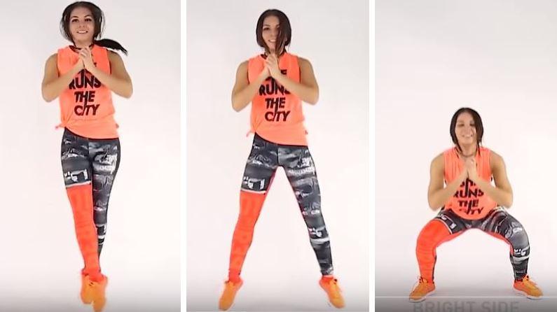 danse sport femme sauter leggings