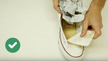 chaussures trop serrées baskets journal astuces agrandir