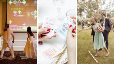 activités mariage originales invités ennui