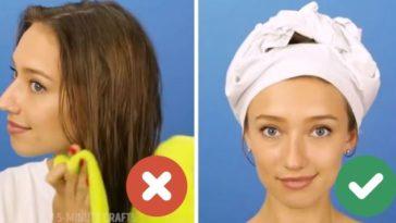 sécher ses cheveux