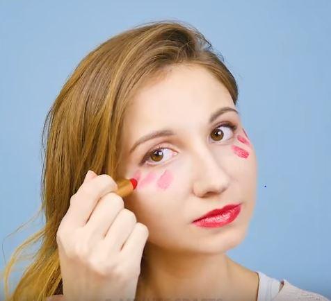rouge à lèvres astuces blush