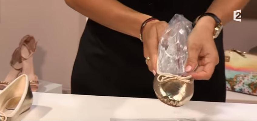 sac de congélation chaussure ballerine neuve