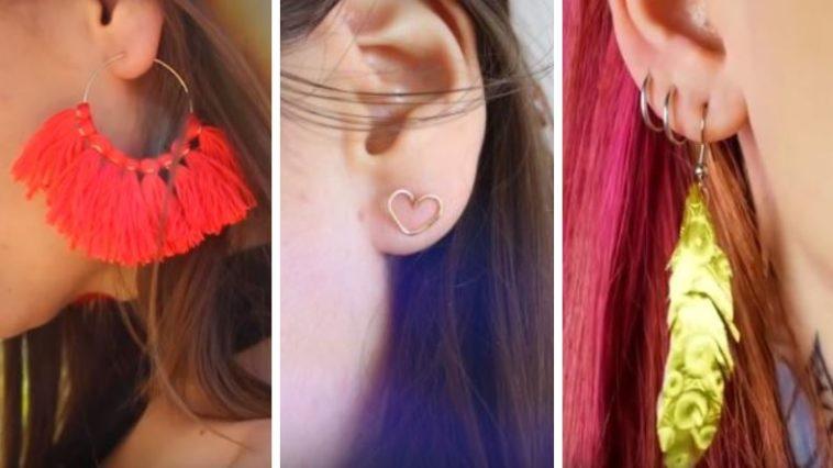 DIY facile boucles d'oreilles