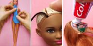 astuces poupées Barbie jeune maman