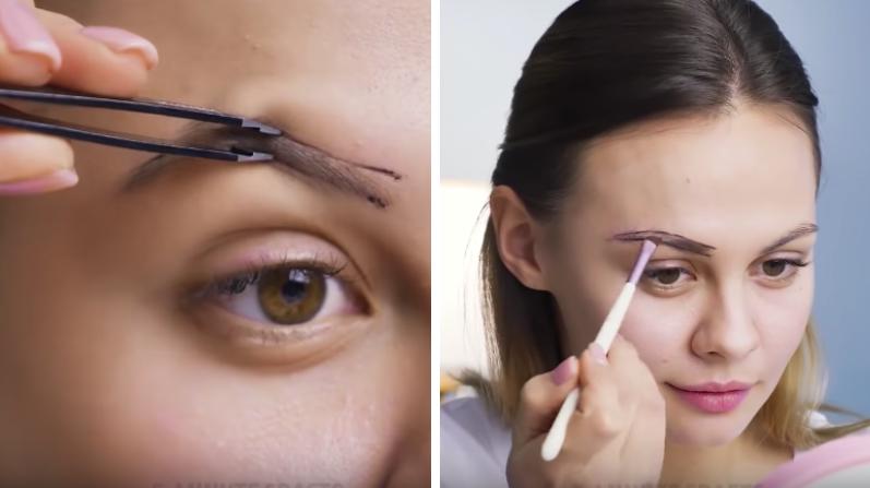 astuces maquillage sourcils