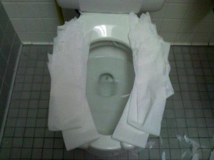 toilettes cuvette