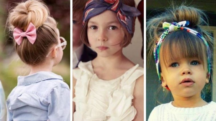 coiffure originale pour petite fille
