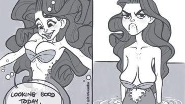 problèmes de sirènes dessins illustrations humour